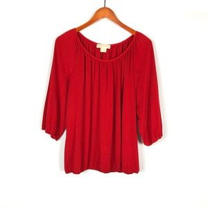 Michael Kors Red Tunic 1X.